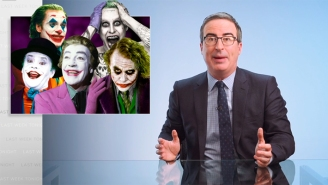 John Oliver Reignites His Feud With Geraldo Rivera, Who Looks Like 'Every Single Batman Joker Rolled Into One'