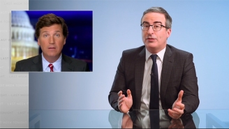 John Oliver Rains Fire On Tucker Carlson While Digging To The Heart Of Fox News' Dr. Seuss Outrage