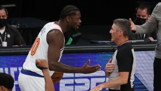 Julius Randle Went After Scott Foster After A Botched Travel Call Cost The Knicks A Chance In Brooklyn