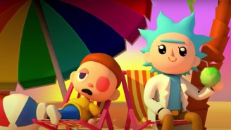 'Rick And Morty' Dive Into 'Animal Crossing' In Adult Swim's Latest Short