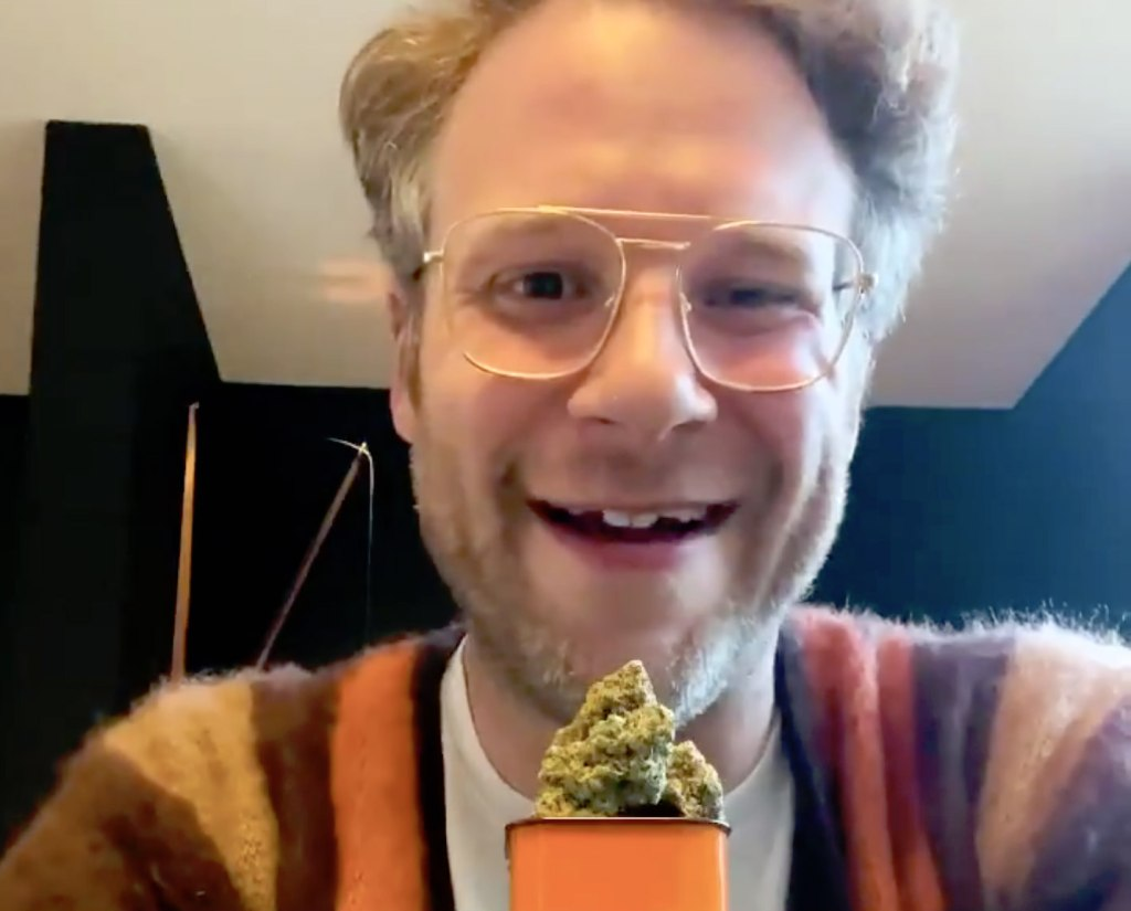 Seth Rogen's Weed Company Is Coming To America, And He's 'Never Been More Excited About Anything'
