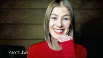 Rosamund Pike Has Revealed Her Bizarre And 'Deeply Psychological' Method For Displaying Her Acting Awards