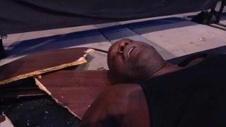 Shaq Got Put Through Two Tables By Cody Rhodes On AEW Dynamite