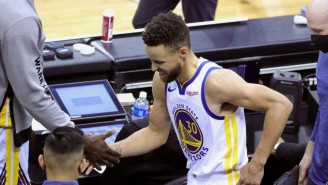 Steph Curry Left The Warriors Game Against The Rockets With A Tailbone Contusion