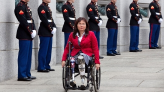 After Telling Tucker Carlson To F*ck Off In A Tweet, Sen. Tammy Duckworth Reheated Her Criticism Of How He Questioned Her Patriotism