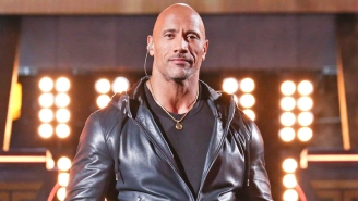 The Rock Showed Off His Jacked Superhero Legs While Marking The Start Of 'Black Adam'