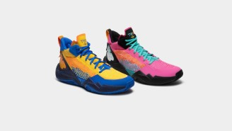 New Balance Released Their Newest Basketball Shoe, The TWO WXY, With Two Bright Colorways