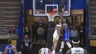 Joseph Yesufu Set A High Bar For The Best Dunk Of The 2021 NCAA Tournament Against Wichita State
