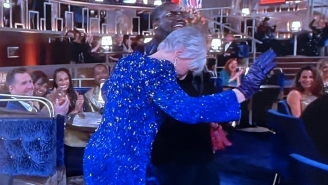 Glenn Close Brought The House Down At The Oscars When She Topped Off A Trivia Segment By Doing 'Da Butt' Dance
