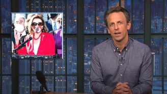 Seth Meyers Ripped Nancy Pelosi For Her Astonishingly Poorly Worded Reaction To The Derek Chauvin Verdict