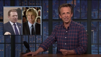 Seth Meyers Delivered A Pretty Spot-On Owen Wilson Impression While Doing A Segment On The Rudy Giuliani Raid