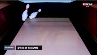 Watch Bowler Anthony Neuer Pick Up The First 7-10 Split On TV In 30 Years