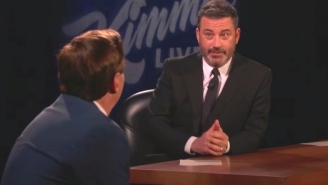 The Highly Anticipated Meeting Of Jimmy Kimmel And MyPillow Guy Mike Lindell Resulted In A Spirited And Sometimes Awkward Conversation