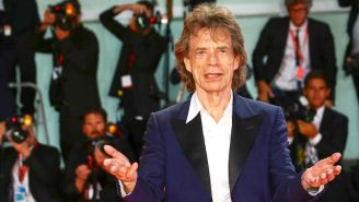 Mick Jagger Turned His Dave Grohl Collaboration 'Eazy Sleazy' Into An NFT