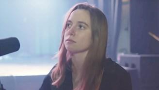 Julien Baker Delivers Her Delicate Ballad 'Favor' In A Moving Performance On 'Corden'