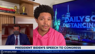 Trevor Noah Put Aside His Twitter Spat With Ted Cruz To Agree On One Thing: Biden's Speech Was Boring