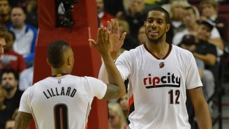 Damian Lillard Believes The Blazers Should Retire LaMarcus Aldridge's Jersey