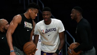 Giannis Reflected On The 'Amazing' Moment Of All Three Antetokounmpos Playing In The Same Game