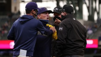 The Brewers Got Hosed By One Of The Worst Umpiring Decisions You'll Ever See