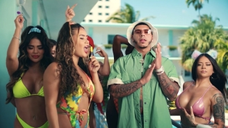 CJ Turns Up By The Pool In His Sex Positive 'Lil Freak' Video Featuring DreamDoll