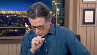 Stephen Colbert Had The Appropriate Reaction To Matt Gaetz Claiming Trump Called Him While He Was In 'The Throes Of Passion'