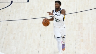Donovan Mitchell Is Expected To Miss Several Games With An Ankle Sprain