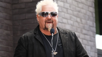 Guy Fieri Raised A Ton Of Money For Food Workers During The Pandemic, Even Though The World's Richest Man 'Didn't Help Us'