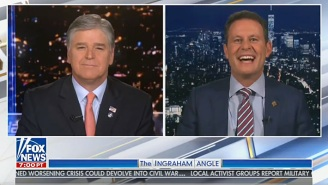 Things Got A Little Weird On Fox News When Brian Kilmeade Suggested That Sean Hannity Drinks Too Much To Host 'Fox & Friends'