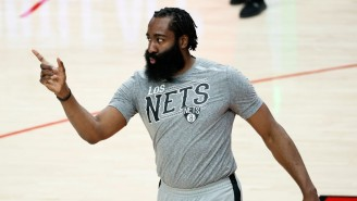 James Harden Is Out Indefinitely After A Setback With His Hamstring Injury
