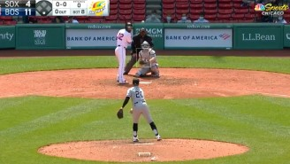 The White Sox Let Two Position Players Pitch And Blessed Us With A Hilariously Slow Hit By Pitch