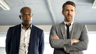 Ryan Reynolds Is A Reluctant Bodyguard For Samuel L. Jackson And Salma Hayek In The 'Hitman's Wife's Bodyguard' Trailer