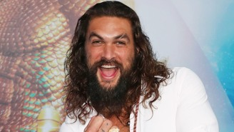 Jason Momoa Is Showing Off A Full Set Of Horns For His Upcoming Netflix Movie