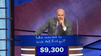 A Contestant Roasted The Packers In Final Jeopardy On Aaron Rodgers's First Day Guest Hosting