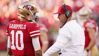 Nihilist Kyle Shanahan On Jimmy G's Niners Future: 'I Can't Guarantee Anybody Will Be Alive On Sunday'