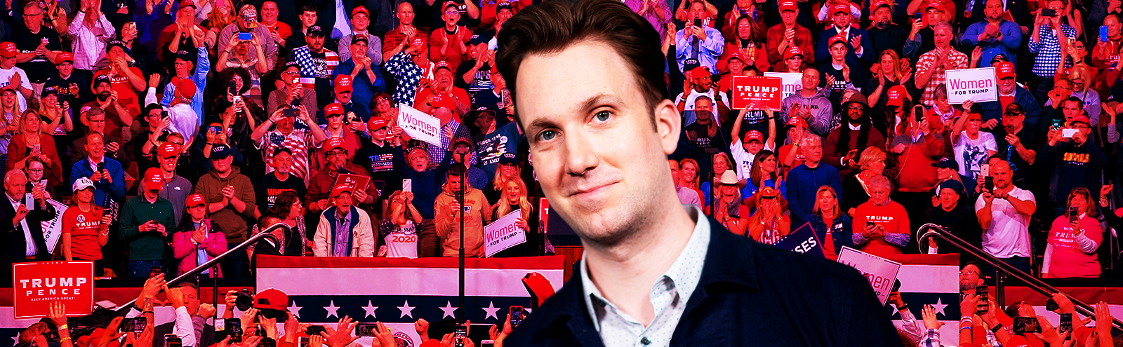 Whiskey And Roman Philosophy: Jordan Klepper On Surviving A Year In The MAGAverse