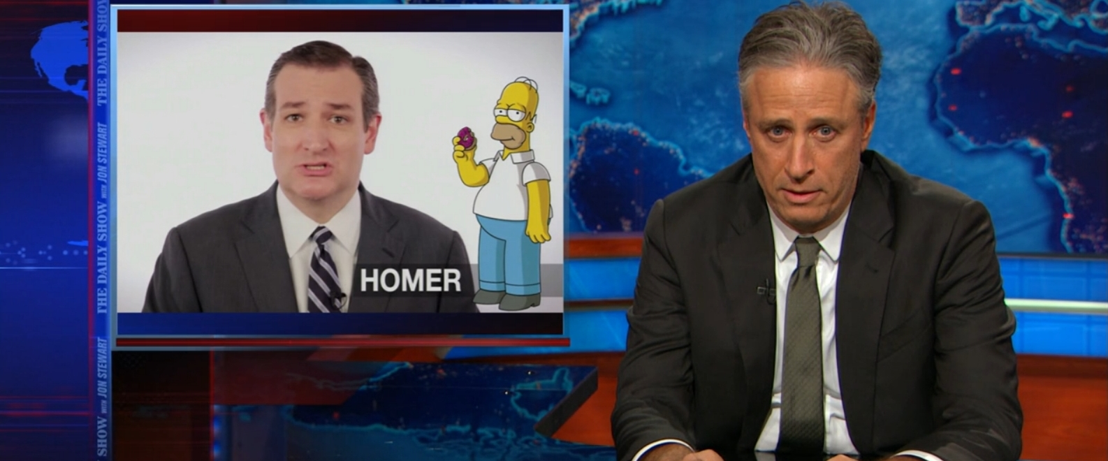 Ted Cruz Tried To Mock 'The Daily Show,' But Ended Up Getting Roasted By Jon Stewart