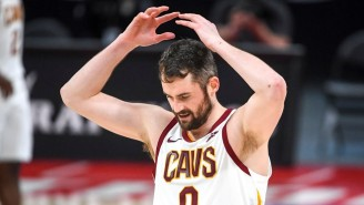 Kevin Love Apologized To The Cavs For Slapping The Ball In Frustration For A Turnover