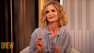 Snooper Extraordinaire Kyra Sedgwick Explains What Happens When You Press The 'Panic Button' In Tom Cruise's House