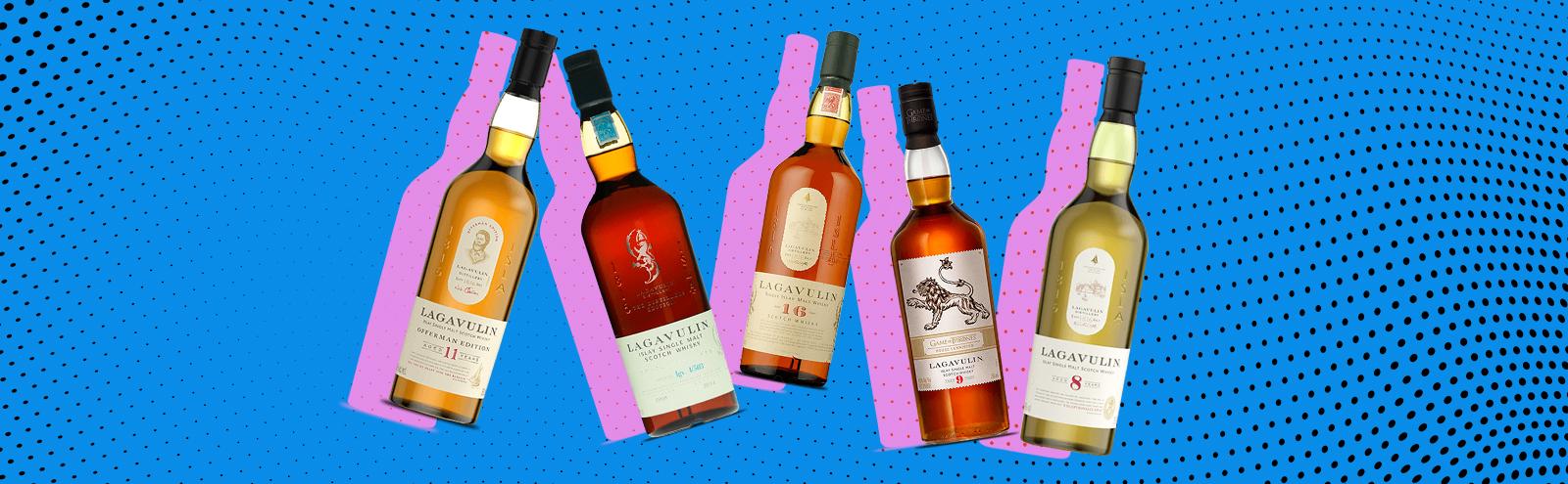 Ranking The Core Line Of Lagavulin Single Malt Scotch Whiskies