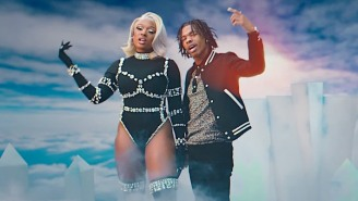 Lil Baby And Megan Thee Stallion Command An Icy Kingdom In Their 'On Me (Remix)' Video