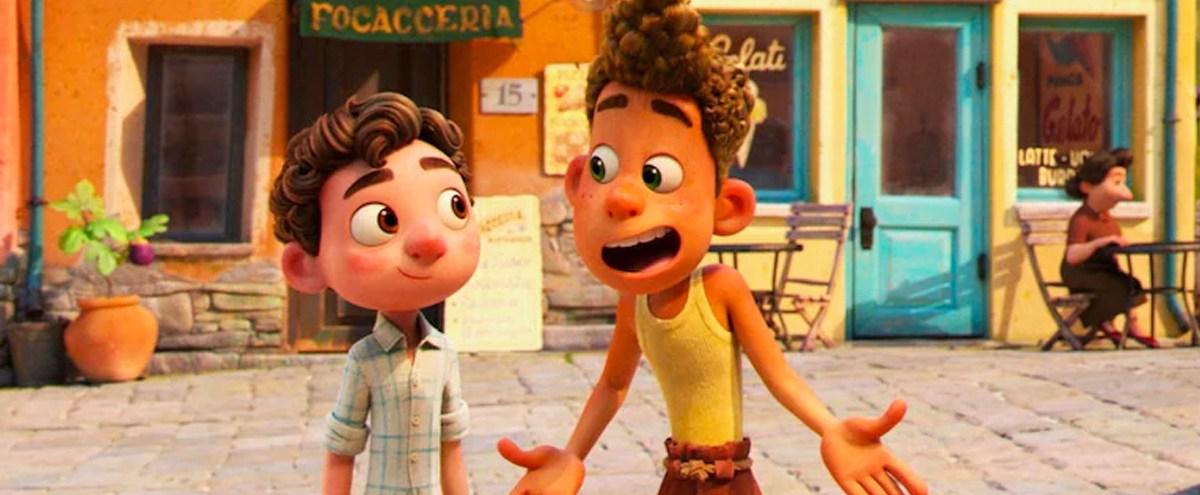 Behind The Scenes Of The New Pixar Movie, 'Luca'