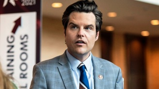 Matt Gaetz Appeared At A Trumpy Summit Mid-Scandal To Declare He's 'Not Going Anywhere'