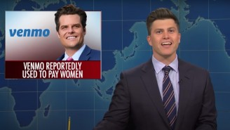 Colin Jost Had Much More To Say About Matt Gaetz's Sex Scandal On 'SNL Weekend Update'