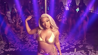 Megan Thee Stallion Shoots A 'Movie' In The Strip Club With Lil Durk For Her New Video