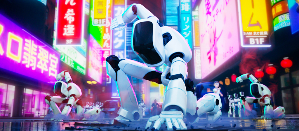 Weekend Preview: A Robot Apocalypse, A Samurai Anime, And An Unhinged Justin Theroux