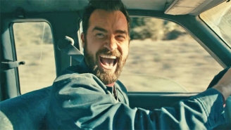 Justin Theroux Is Unhinged (And Taking Everyone For A Ride) In Apple TV+'s 'Mosquito Coast' Trailer