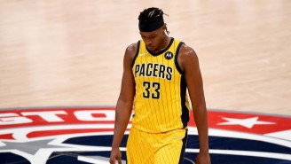 Myles Turner Is Out Indefinitely With A Plantar Tear In His Right Foot