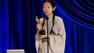 Chloé Zhao Capped Off Her Historic Night At The Oscars With A Best Picture Win For 'Nomadland'