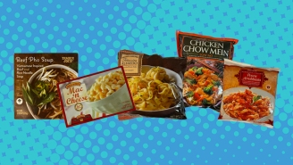 The Best Trader Joe's Frozen Noodle Dishes, From Pho To Alfredo