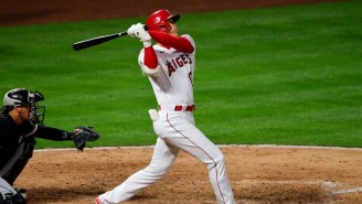Shohei Ohtani Hit A Baseball To The Moon During His First Pitching Start Of The Season